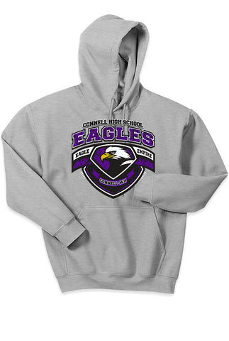 Standard Hoodie - Eagle Empire Crest