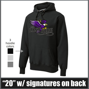 """Last Ride"" Super Heavyweight Hoodie - CHS Class of 2020"