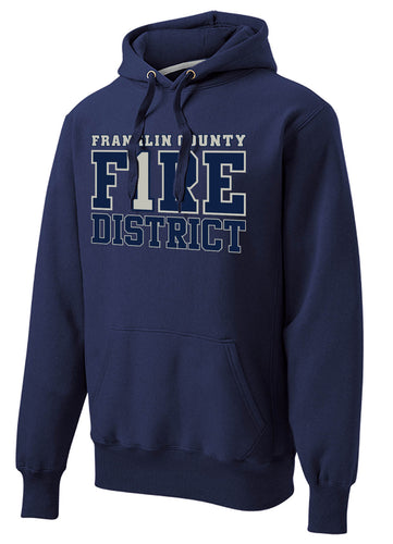 Super Heavyweight Hoodie - FIRE 1