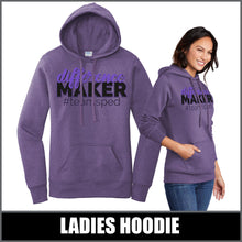 "Load image into Gallery viewer, ""Difference Maker"" Ladies Hoodie - #teamsped"