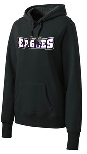 Ladies Midweight Pullover Hoodie - Connell Eagles
