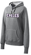 Load image into Gallery viewer, Ladies Midweight Pullover Hoodie - Connell Eagles