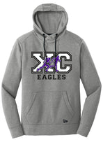 Load image into Gallery viewer, New Era® Tri-Blend Fleece Pullover Hoodie - CHS Cross Country