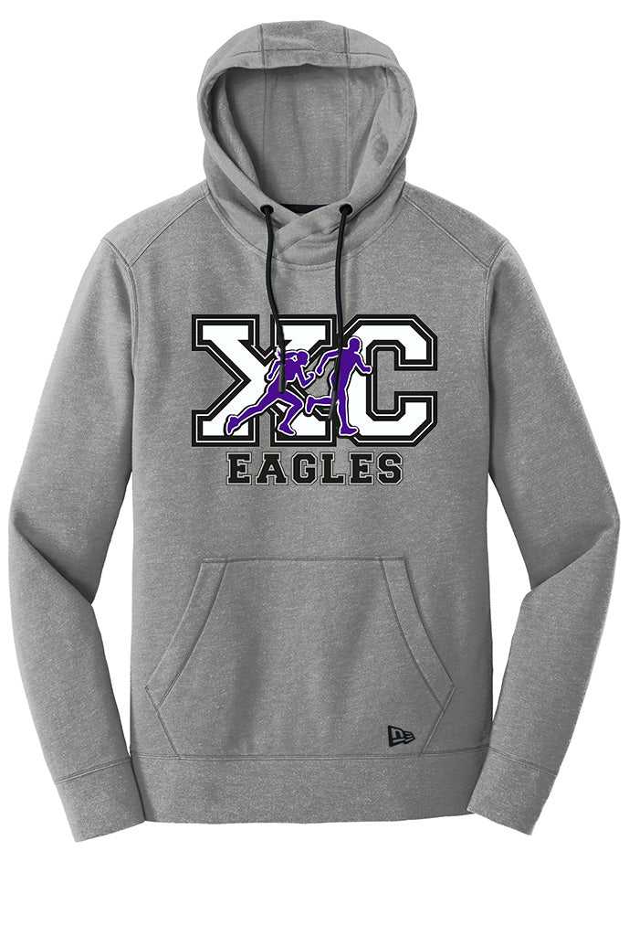 New Era® Tri-Blend Fleece Pullover Hoodie - CHS Cross Country