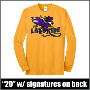 """Last Ride"" Long Sleeve - CHS Class of 2020"