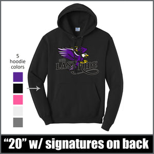 """Last Ride"" Hoodie - CHS Class of 2020"