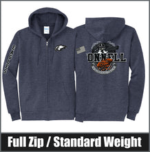 Load image into Gallery viewer, Signature Zip Hoodie - Connell Trap Team