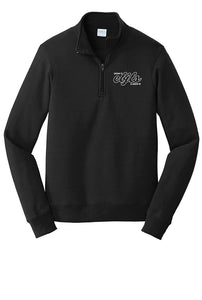Fleece 1/4-Zip Pullover Sweatshirt - CBJLS