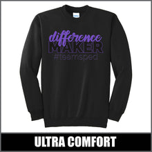 "Load image into Gallery viewer, ""Difference Maker"" Crewneck Sweater - #teamsped"