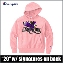 "Load image into Gallery viewer, Champion® ""Last Ride"" Hoodie - CHS Class of 2020"