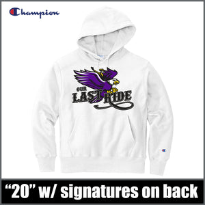 "Champion® ""Last Ride"" Hoodie - CHS Class of 2020"