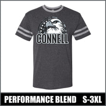 "Load image into Gallery viewer, ""Regal"" Tri-Blend Ringer T-Shirt - Connell Eagles"