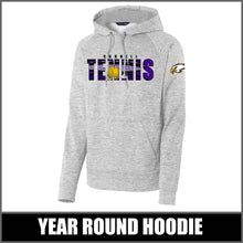 "Load image into Gallery viewer, ""Shadow"" Electric Heather Hoodie - CHS Tennis"