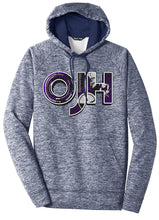 Load image into Gallery viewer, Standard or Ladies Electric Heather Hoodie - Olds Jr High