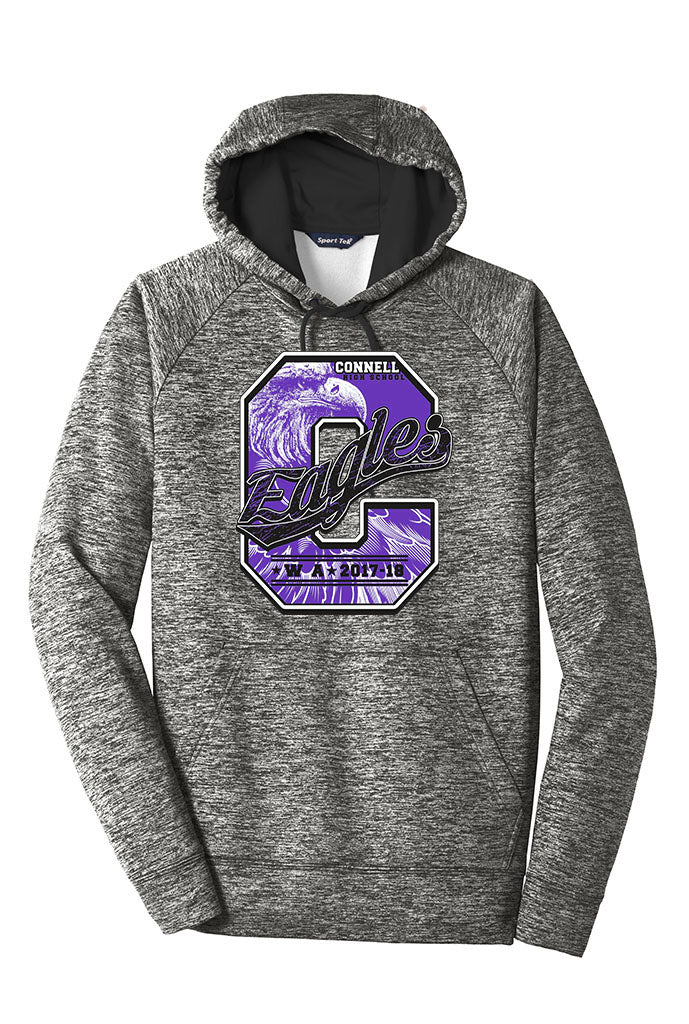 CLEARANCE - Premium Hoodie - Connell Eagles