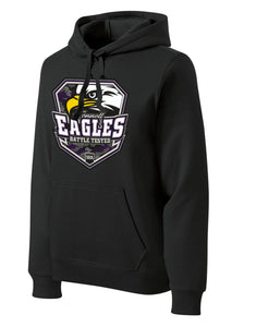 Midweight Pullover Hoodie w/ Tall - Connell Eagles