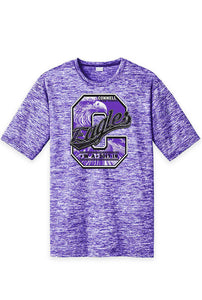 "CLEARANCE - Performance Tee - Regular or Ladies - Connell Eagles ""C"""