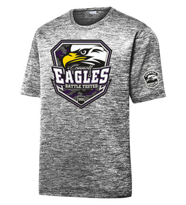 PosiCharge® Electric Heather Tee - CHS Wrestling