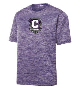 "Electric Heather Performance Tee - ""C"" Connell"