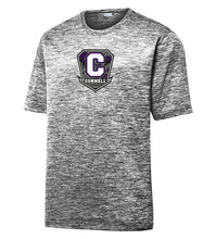 "Load image into Gallery viewer, Electric Heather Performance Tee - ""C"" Connell"