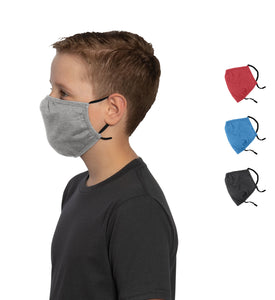 Youth Shaped Face Mask - (5-pack)