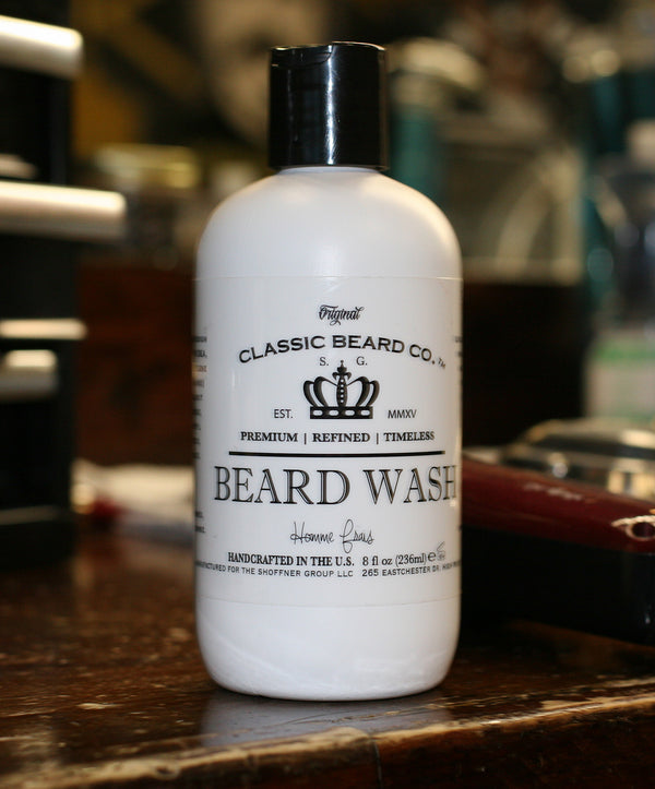 "Beard Wash | ""Homme Frais"" Scent - Classic Beard Co."