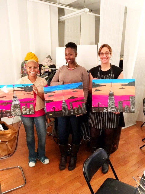 January 12: Paint and Soullllll Empire State of Mind