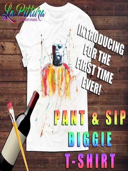 Paint and Sip: Biggie Tee event!