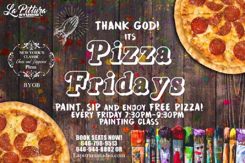 Free Pizza Fridays!!