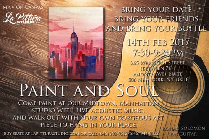 Last Chance to Paint and Soullllll with us!
