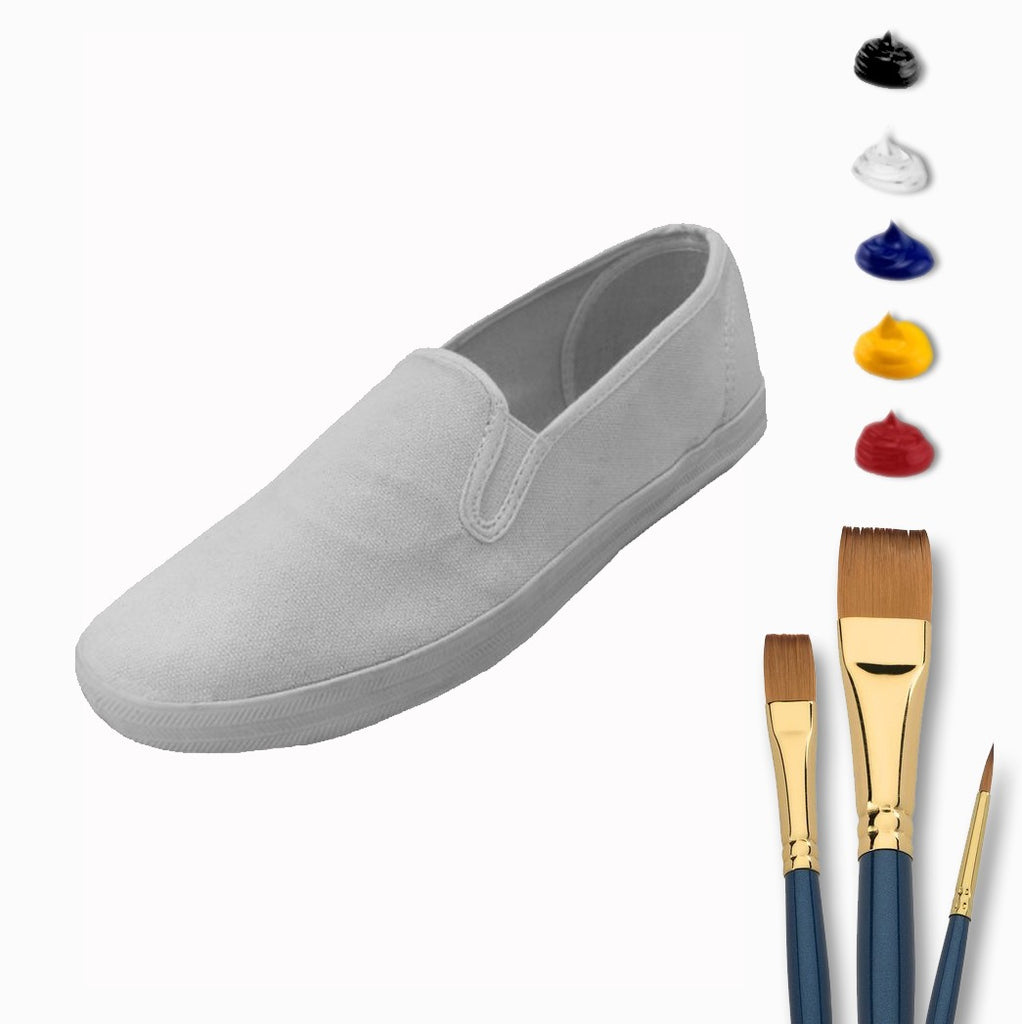 Complete Slip-On Sneaker Painting At Home Kit