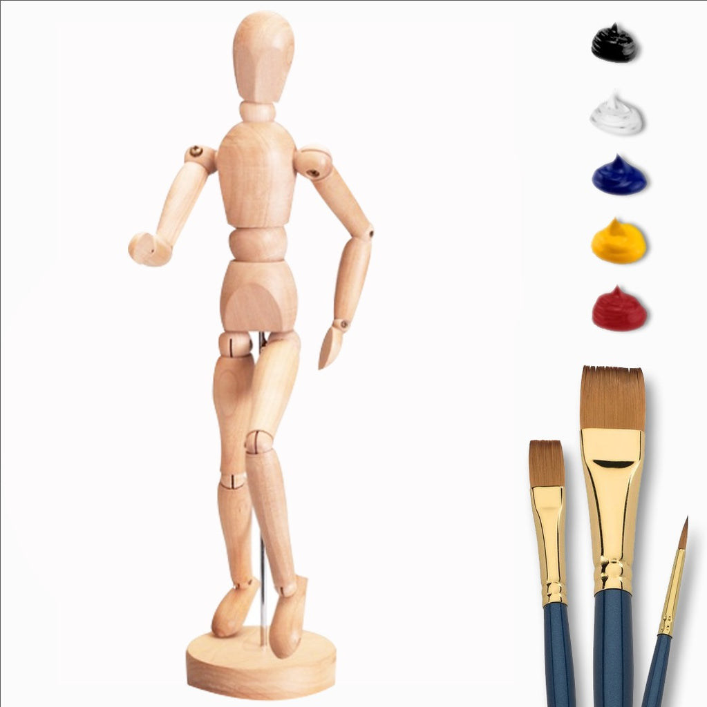 Deluxe Figurine Painting Kit