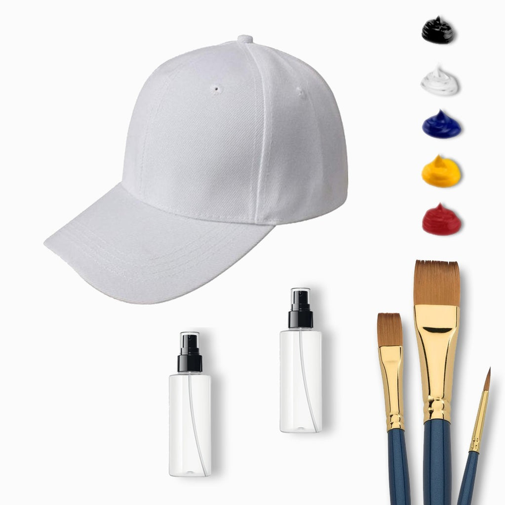 Complete Hat Painting At Home Kit