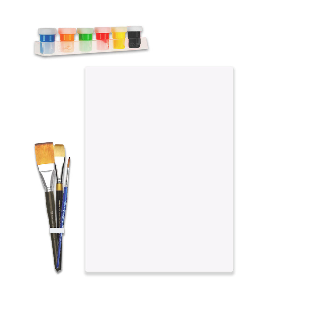 Deluxe Canvas Painting Kit