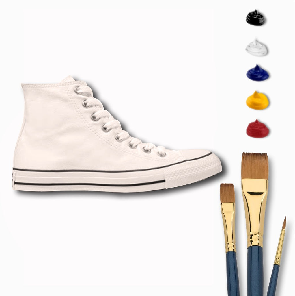 Deluxe High-Top Sneaker Painting Kit