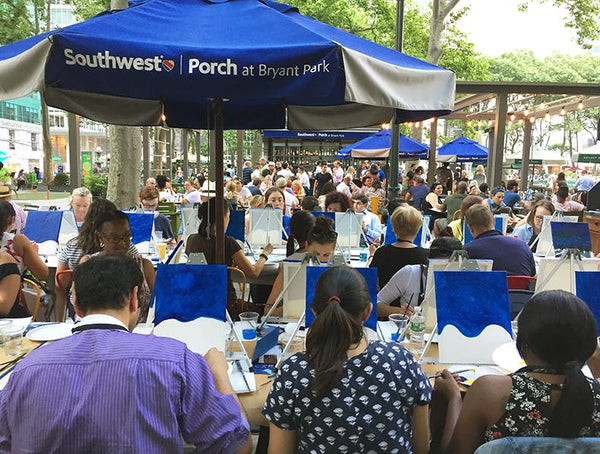 Paint and Party in Bryant Park (6-8pm) FREE