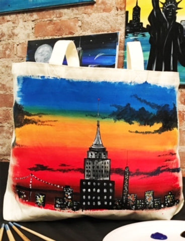 May 13: Empire State of Tote (12-2pm)