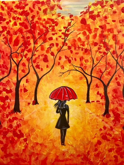 Fall, Autumn, Sweater Weather Paint and Sip