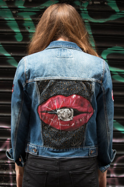 Kiss Up Denim Jacket