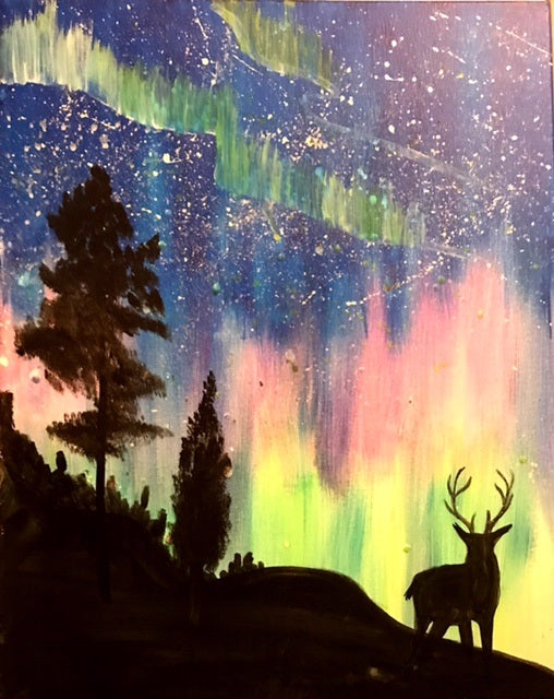 October 3: Oh, Deer! Glow In The Dark Edition (7:30-9:30pm)