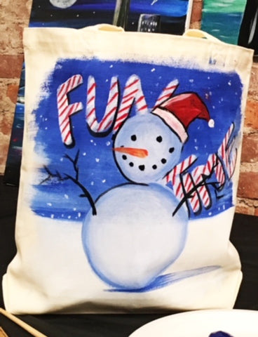 December 1: Fun Time Frosty Tote 2:00-4:00pm