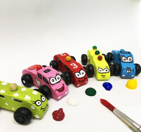 Complete Toy Car At Home Kit