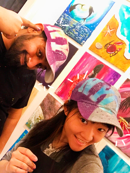 Craftholes: The Dad Hat Painting Class