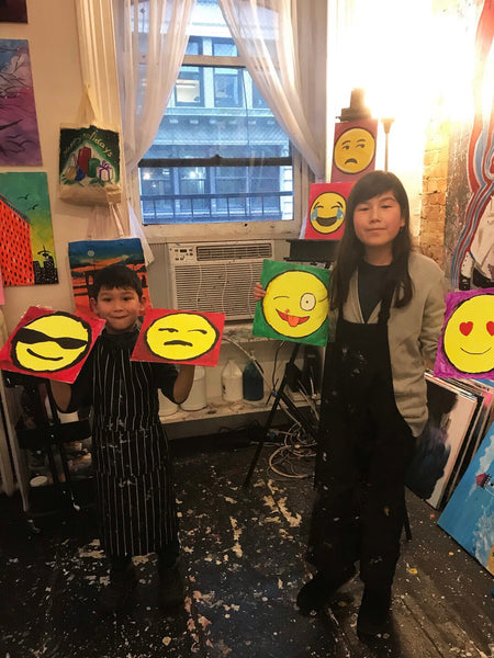 Paint and (Fruit) Punch- OMG Emoji! (2-4pm)
