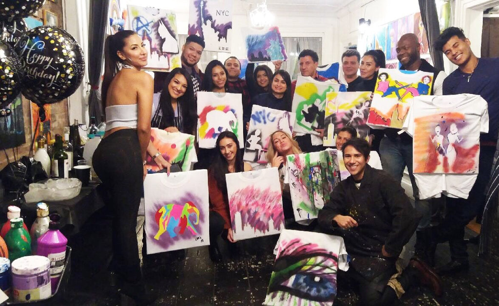 Craftholes: The T-Shirt Painting Class