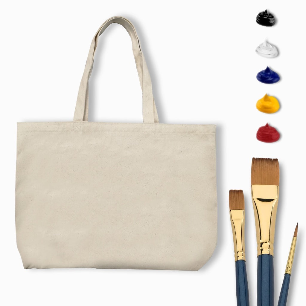 Deluxe Tote Bag Painting Kit