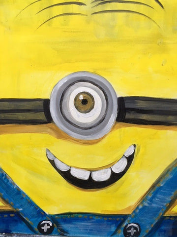 Paint and (Fruit) Punch- Make a Minion (5-7pm)