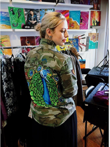 Let Me See Your Peacock Camo Jacket