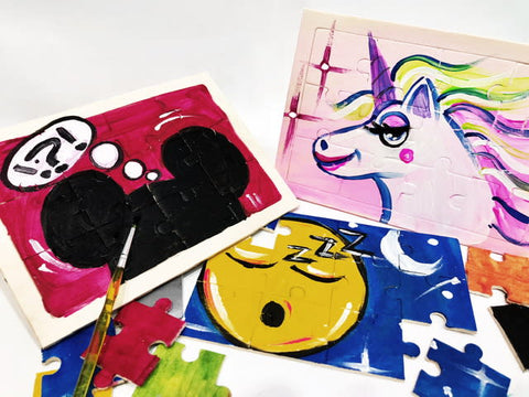 Complete Puzzle Painting At Home Kit