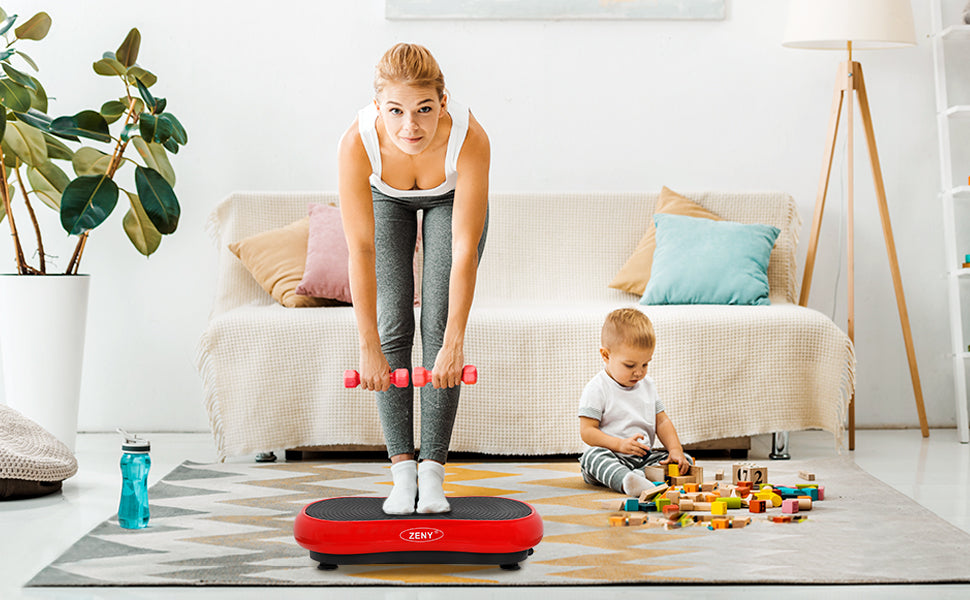 zeny vibration exercise platform machine